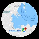 Nos encontró en el mapa de google
